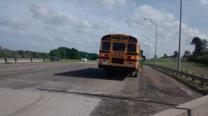 Stranded on I-45